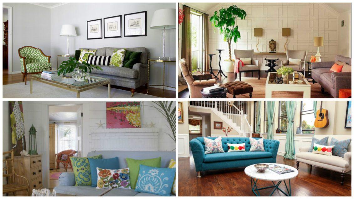Oturma Odası Dekorasyonu Renkler