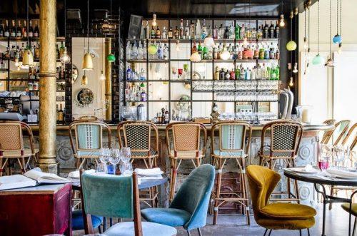 Bohem Tarzda Cafe Dekorasyon Modelleri